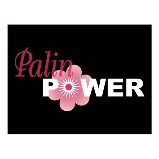 Sarah Palin Power Postcard