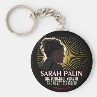 Sarah Palin Powerful Voice Key Chains