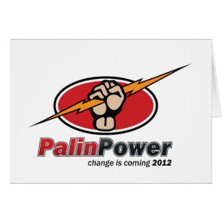 Sarah Palin  - President 2012 Card