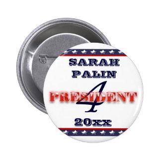 Sarah Palin president 2012 CUSTOMIZE Button