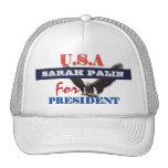Sarah Palin president 2012 CUSTOMIZE Mesh Hat