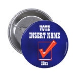 Sarah Palin president 2012 CUSTOMIZE Pinback Button