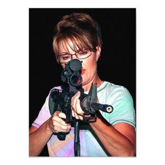 Sarah Palin - Protecting America Card
