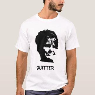 """Sarah Palin """"Quitter"""" t shirt"""