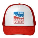 Sarah Palin Red White Blue Trucker Hat