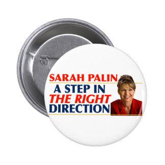 Sarah Palin Right Direction Buttons