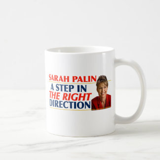 Sarah Palin Right Direction Mugs