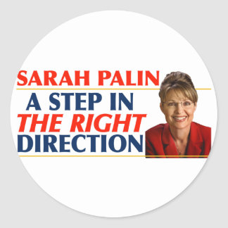 Sarah Palin Right Direction Stickers