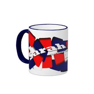 Sarah Palin Ringer Coffee Mug
