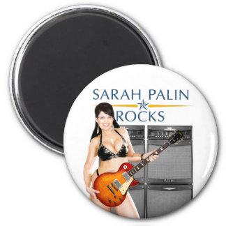 Sarah Palin Rocks Magnet