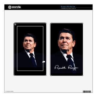 Sarah Palin & Ronald Reagan Kindle Fire Skin