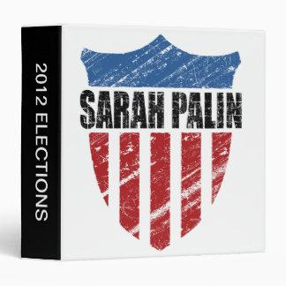 Sarah Palin Shield Binder