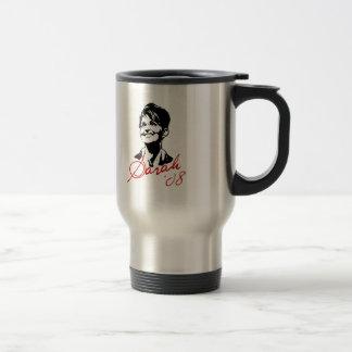 Sarah Palin Signature Tee 15 Oz Stainless Steel Travel Mug