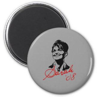 Sarah Palin Signature Tee 2 Inch Round Magnet