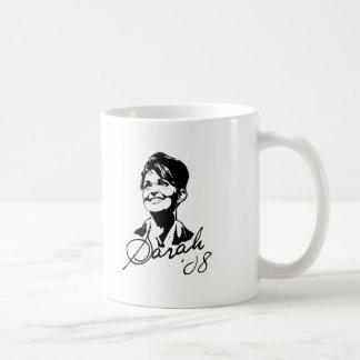 Sarah Palin Signature Tee Classic White Coffee Mug