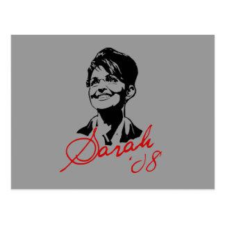 Sarah Palin Signature Tee Postcard