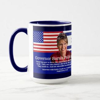 Sarah Palin Speaks About Israel Mug
