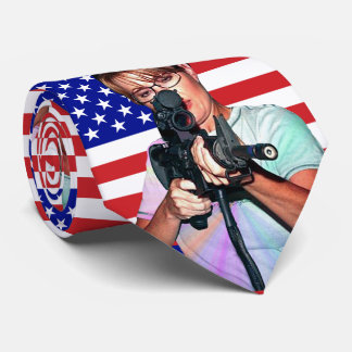 Sarah Palin Taking Aim Tie
