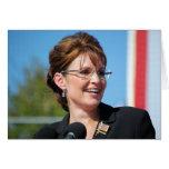 Sarah Palin Tarjeton
