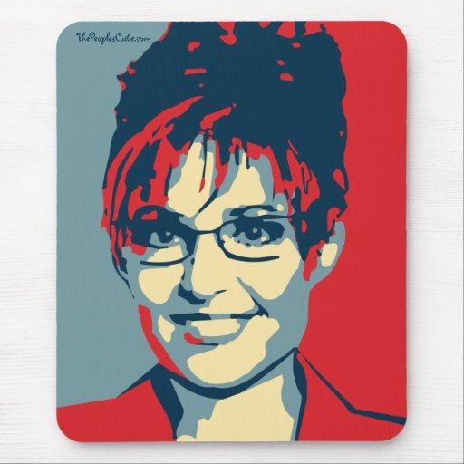 Sarah Palin - techo de cristal: OHP Mousepad Tapete De Ratón