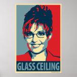 Sarah Palin - techo de cristal: Poster de OHP