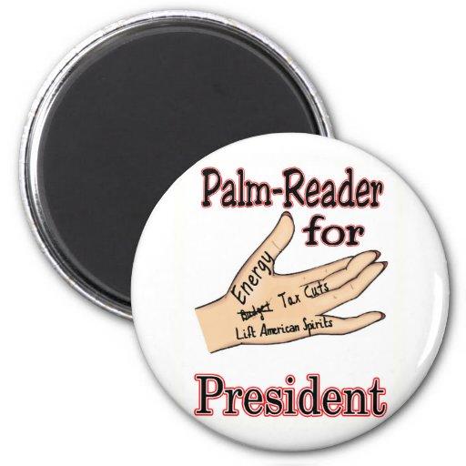 Sarah Palin The Palm Reader Magnets