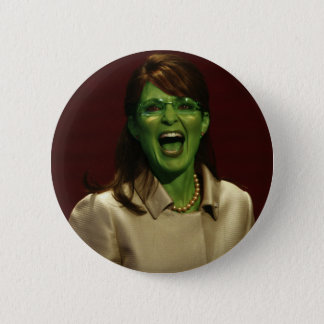 Sarah Palin the Witch Pinback Button