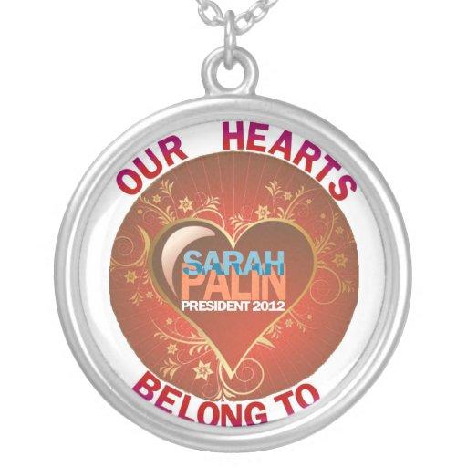 Sarah Palin tiene nuestros corazones en 2012 Joyería