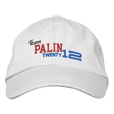 Sarah Palin Twenty Twelve 2012 Embroidered Hats
