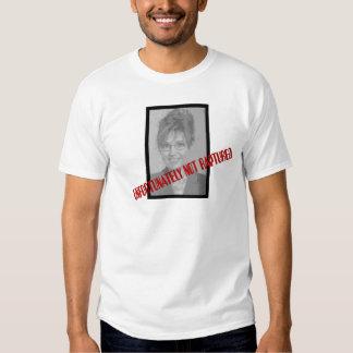 Sarah Palin: Unfortunately Not Raptured Tee Shirt