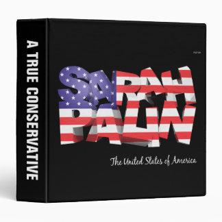 Sarah Palin USA 3 Ring Binder