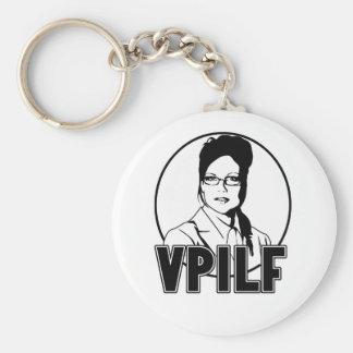Sarah Palin VPILF Llavero Redondo Tipo Pin