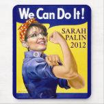 Sarah Palin We Can Do It Mouse Pad