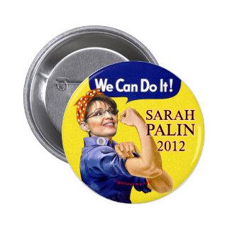 Sarah Palin We Can Do It Pinback Button