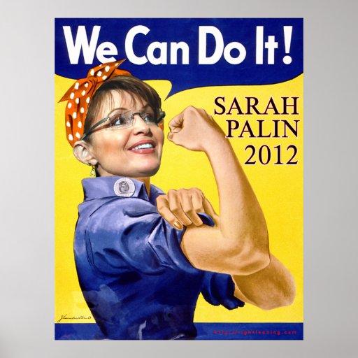 Sarah Palin We Can Do It Posters