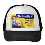 Sarah Palin We Can Do It Trucker Hat