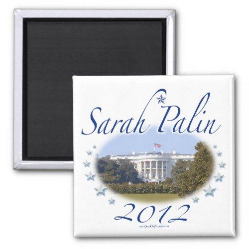Sarah Palin White House 2012 Magnet magnet