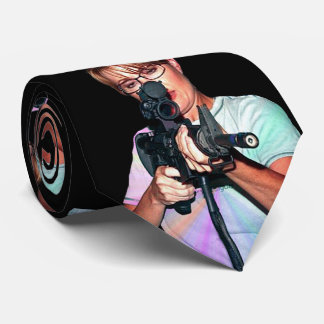 Sarah Palin With Rifle Tie