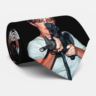 Sarah Palin With Rifle Tie