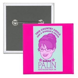 Sarah Palin, Woman's Touch Button