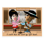 Sarah Palin y Obama Mano un Mano Postal