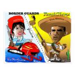 Sarah Palin y patrulla fronteriza de Obama Postales