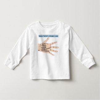 Sarah Palins Grocery List. Toddlers T-Shirt. Tee Shirt