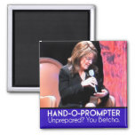 Sarah Palin's Teleprompter: The Hand-o-Prompter 2 Inch Square Magnet