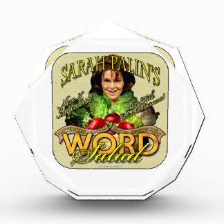 Sarah Palin's WORD Salad Awards