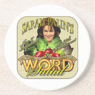 Sarah Palin's WORD Salad Coasters