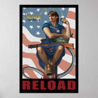 Sarah Para Bellum RELOAD Poster