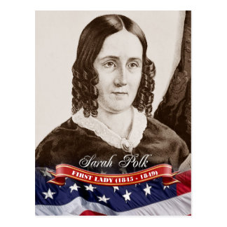 Sarah Polk, First Lady of the U.S. Postcard