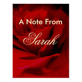 Sarah Postcard