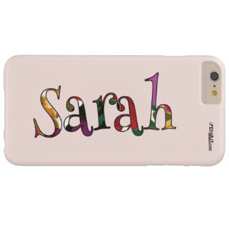 Sarah's Colorful Fun Cell Phone Case for